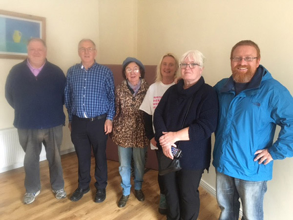 Members of the Moycullen Historical Society