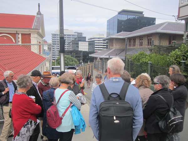 A walking tour with Peter to places in Wellington which were of special significance to the Sons of Eire